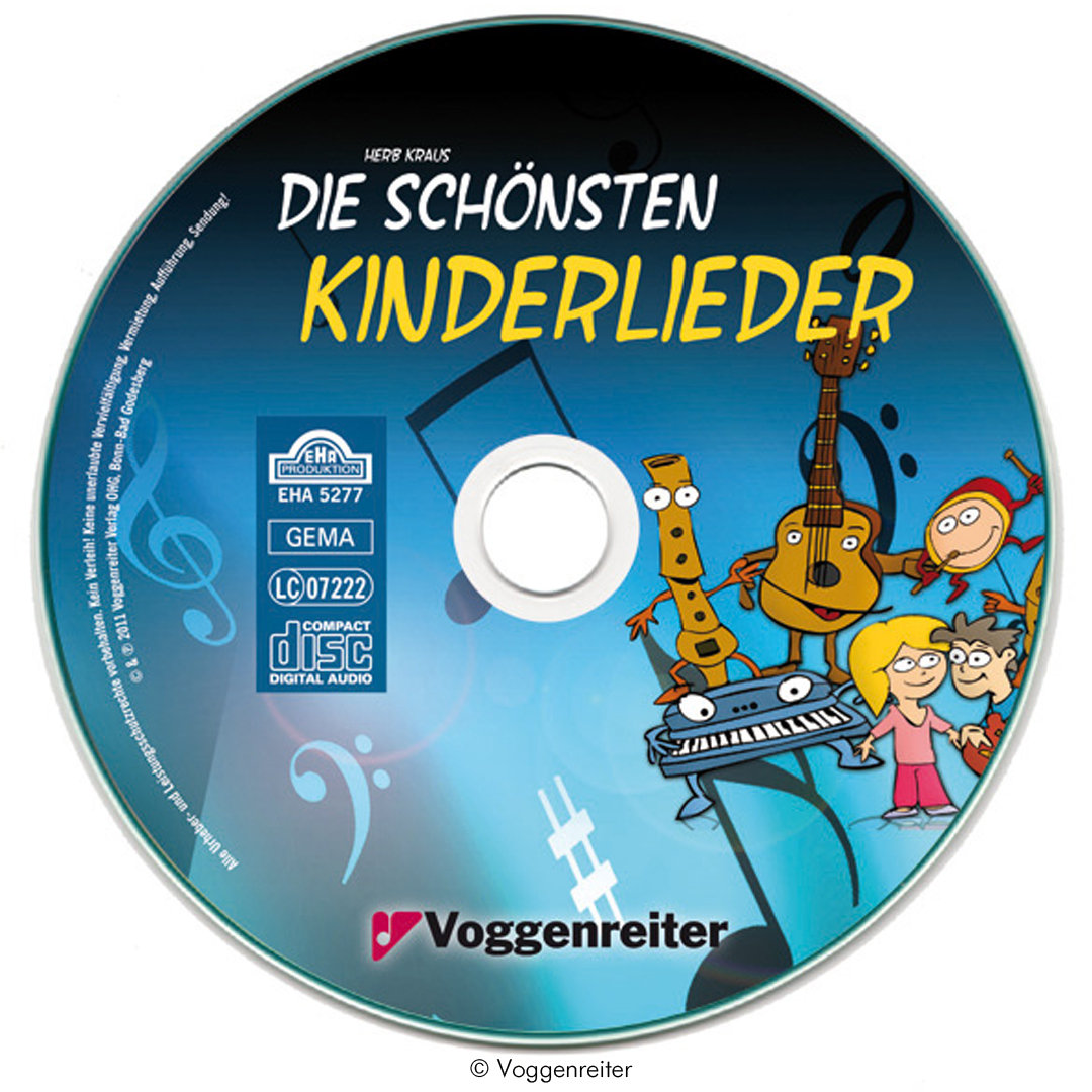 die sch nsten kinderlieder liederbuch mit cd zambomba. Black Bedroom Furniture Sets. Home Design Ideas