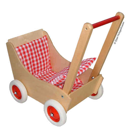Puppenwagen aus Holz made in Germany