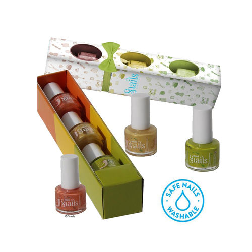 Snails Kinder-Nagellack 3er Geschenk-Box Fashion