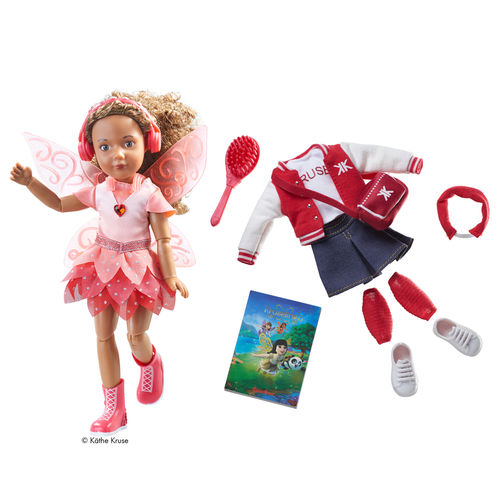 Kruselings Puppe Joy Deluxe Set mit Feen-Outfit
