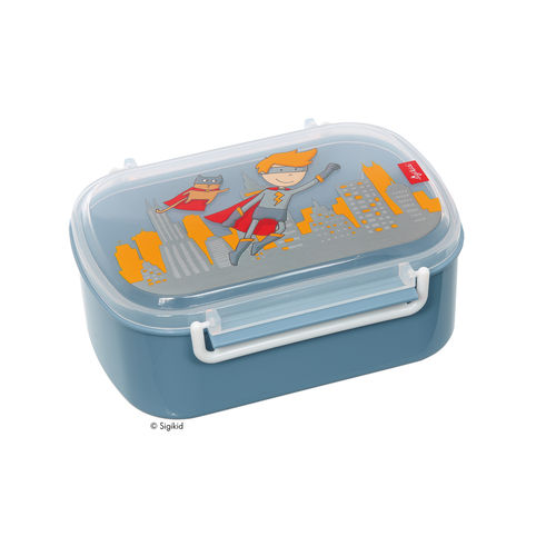 Sigikid Lunchbox Brotdose Superheld Pille Power