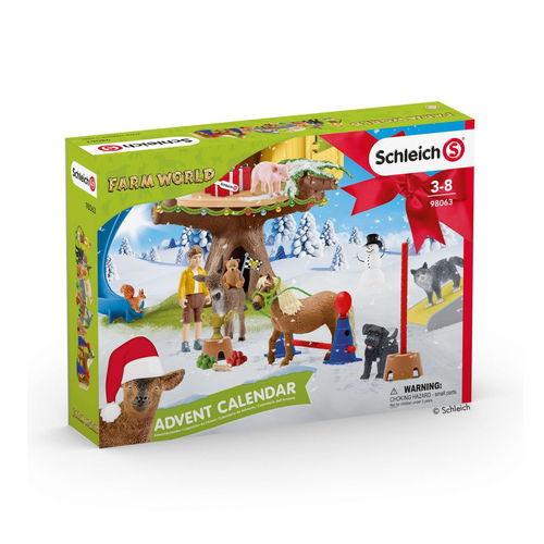 Schleich Adventskalender Bauernhof Farm World 2020