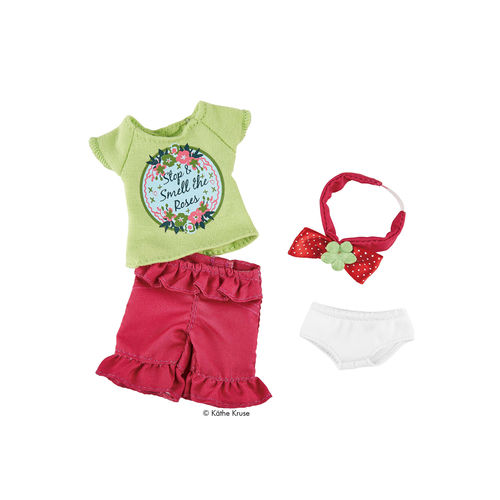 Kruselings Puppe Outfit Sofia Garten-Kleidung