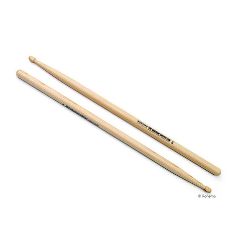 Rohema Drumsticks Hickory 5A lackiert