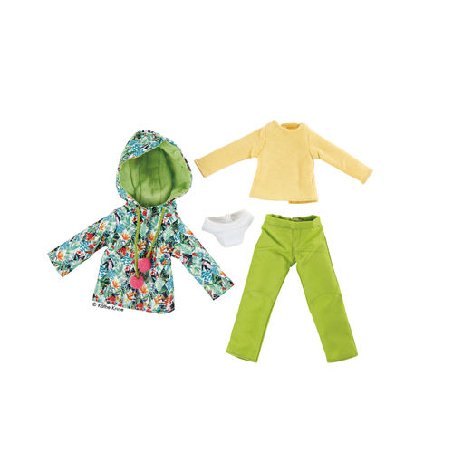 Kruselings Puppe Outfit Tropical Winter