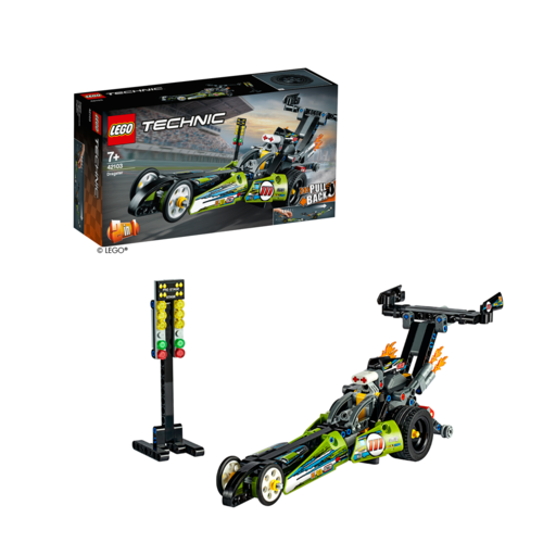 LEGO® Technic 42103 Dragster-Rennauto Pull-Back