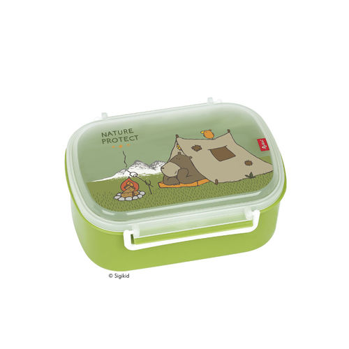 Sigikid Lunchbox Brotdose Forest Grizzly