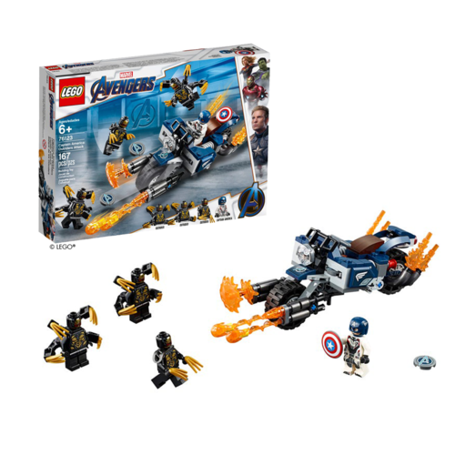 LEGO® Marvel Captain America Outriders Attacke 76123