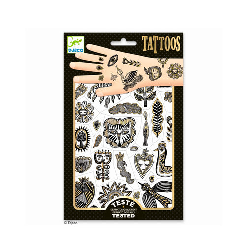 Djeco Tattoos Golden Chic