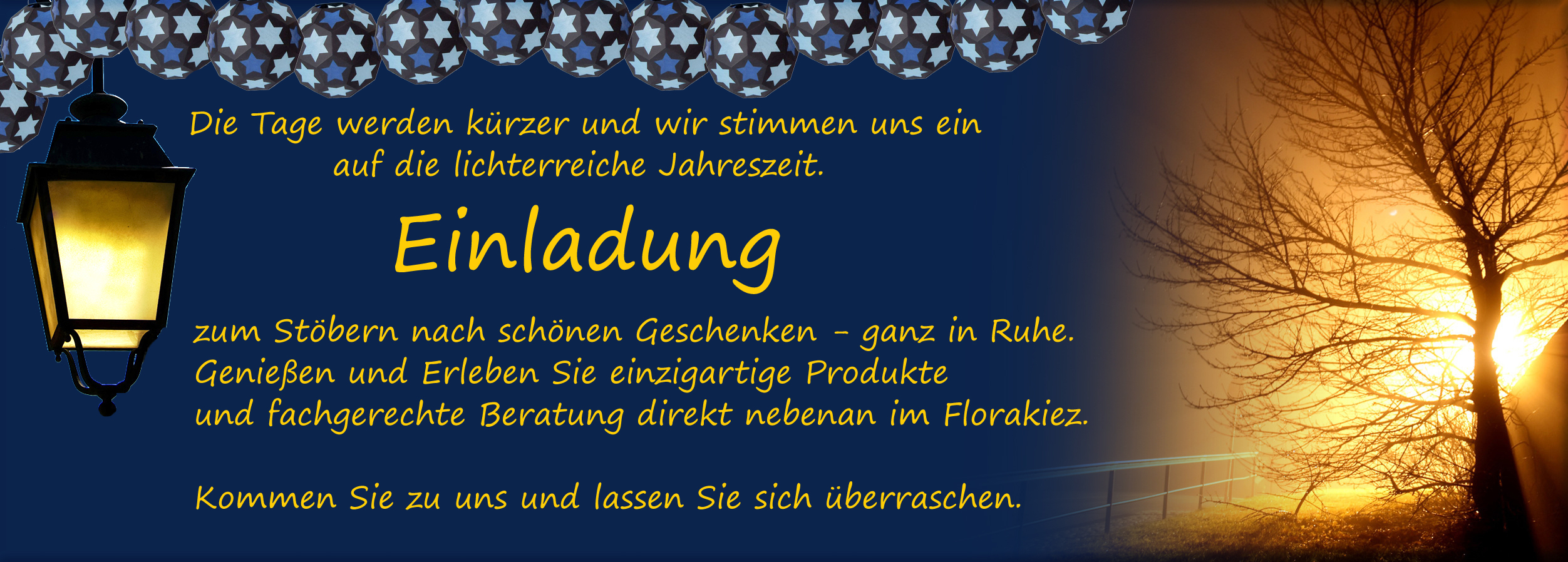 Flyer-Lichterfestoeffnung